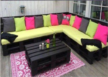 les 25 meilleures id es de la cat gorie coussin salon de jardin sur pinterest coussins d. Black Bedroom Furniture Sets. Home Design Ideas