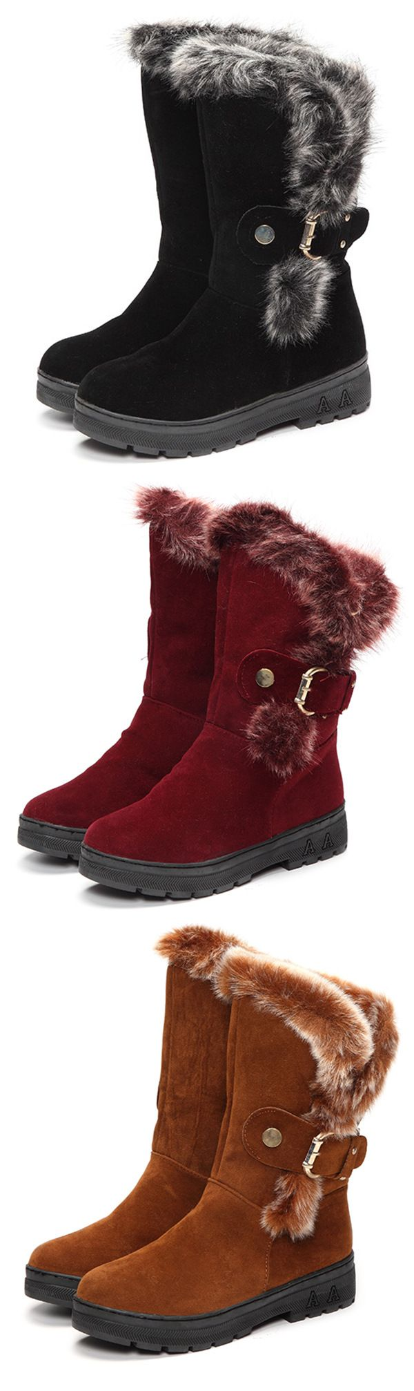 Beautiful winter boots ankle short boots for women#outfits #styleinspiration