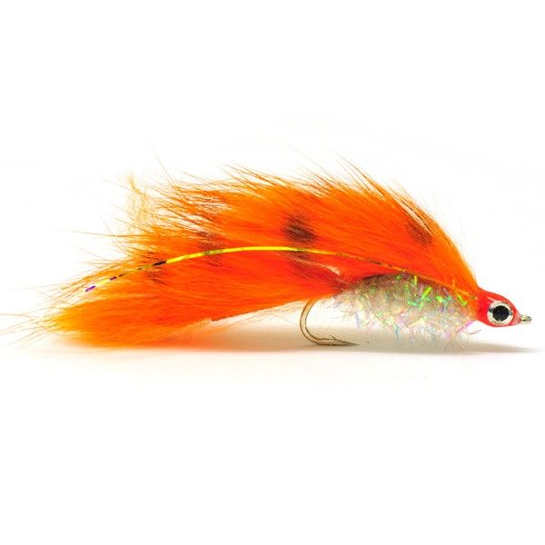 zonker | Fly Fishing Masters | Barred Orange and Pearl Zonker | Sportfiskebutik ...