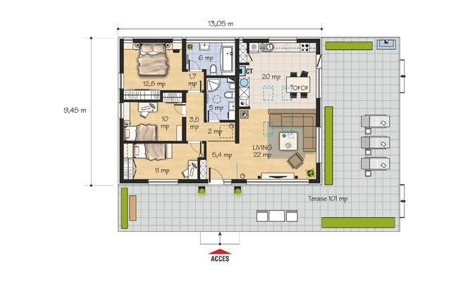 case mici si moderne pentru tineri small modern youth houses 5