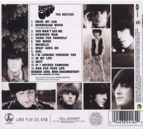The Beatles - Rubber Soul - Amazon.com Music