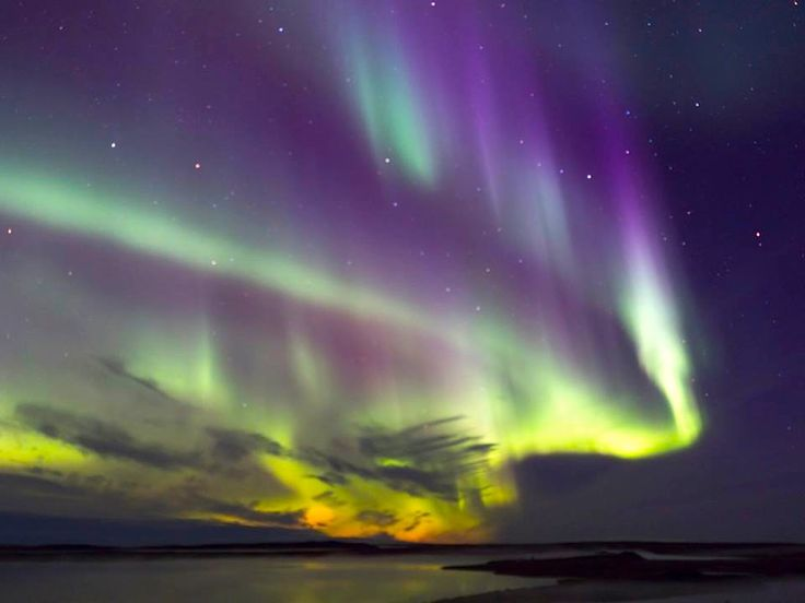 One of the top stand-alone photos of 2016 on our Nunatsiaq News Twitter feed at @NunatsiaqNews and a leading photo on our Facebook page: Kivalliq photographer Doug McLarty catches the northern lights show he witnessed on Sept. 1 over Rankin Inlet. (PHOTO BY DOUG MCLARTY/ARCTECH DESIGN AND SERVICES)
