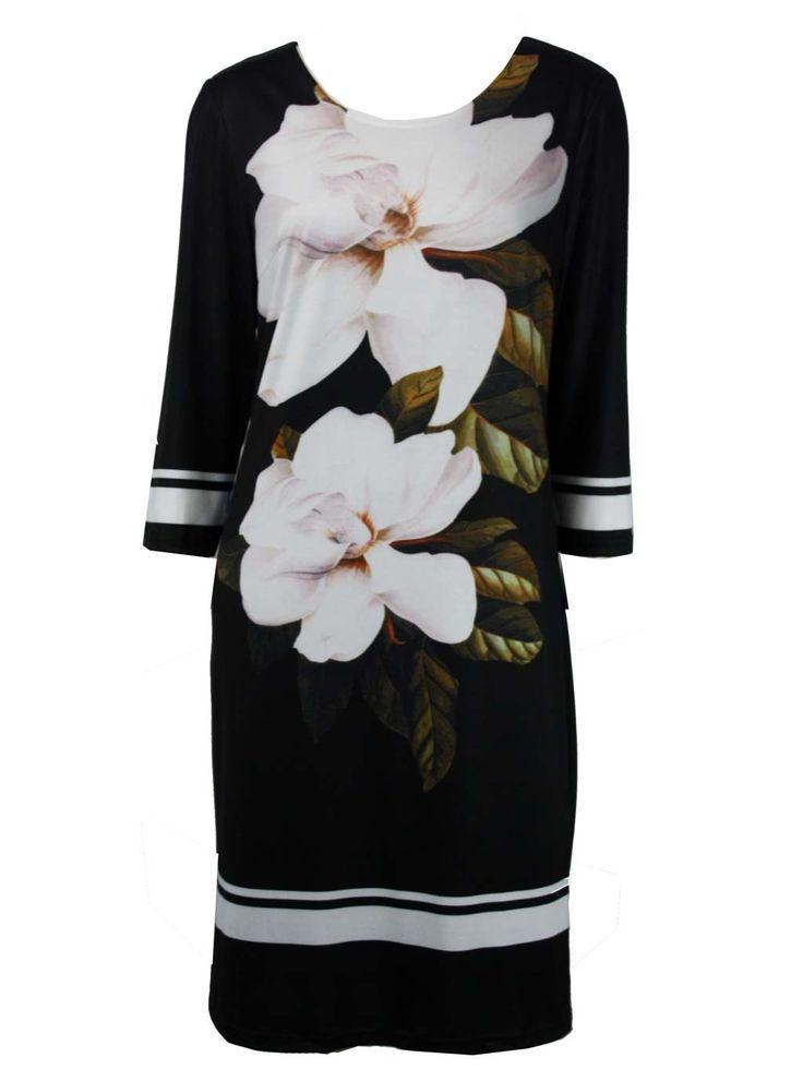 Hungary Digital Bloom Dress