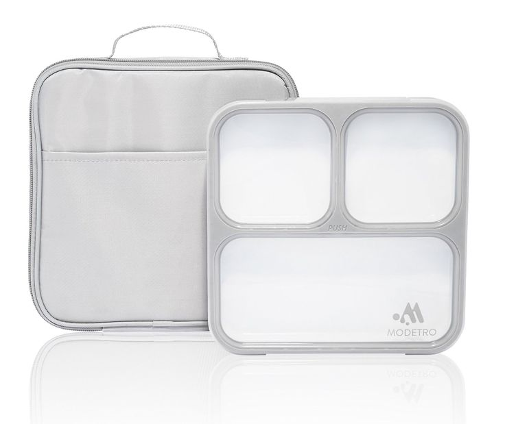 Amazon.de: Bento Lunchboxen - 3 Portionen Leck Dichte Fächer - Einschließlich Isolierter Tasche - Ultra dünner Mittagessen Container