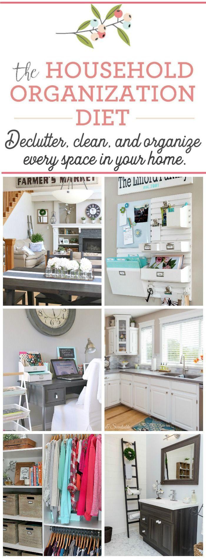 522 best Home // Organization images on Pinterest | Organization ...