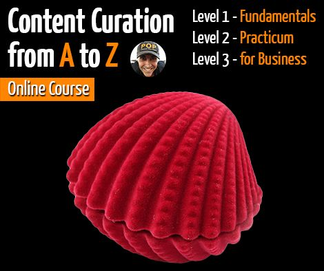 Content Curation from A to Z a full online on-demand video learning program with Robin Good   https://www.eventbrite.com/e/content-curation-from-a-to-z-master-class-with-robin-good-tickets-16697464566  Learn everything you need to know to start practicing the art of finding, organizing and presenting the most relevant news, information or resources on a specific topic, for a specific audience.