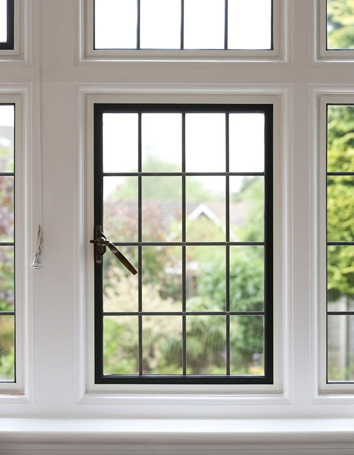 EB24 steel windows by Clement bring a modern specification with traditional looks.