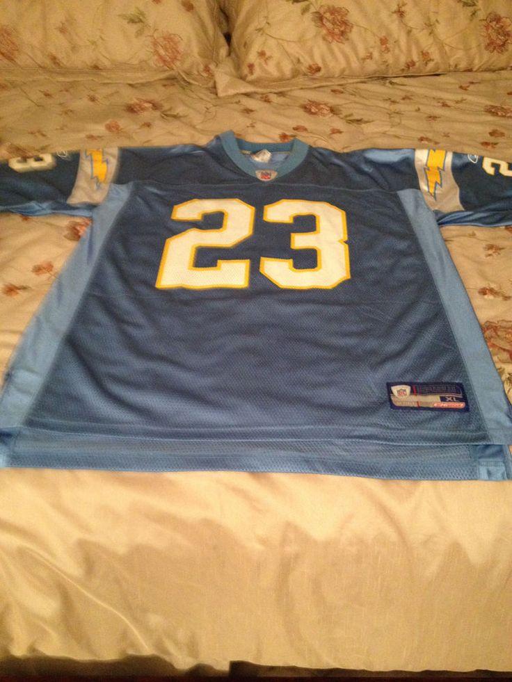 San Diego Chargers Alternate Jersey Reebok XL #Reebok #SanDiegoChargers