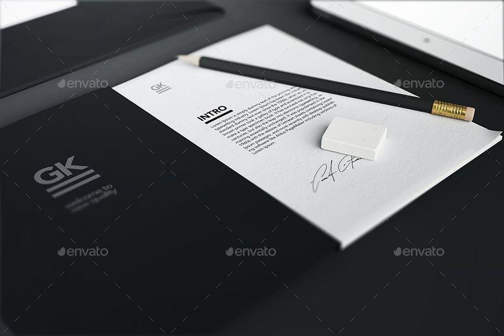 Stationery / Branding / Identity Mock-Up | GraphicRiver