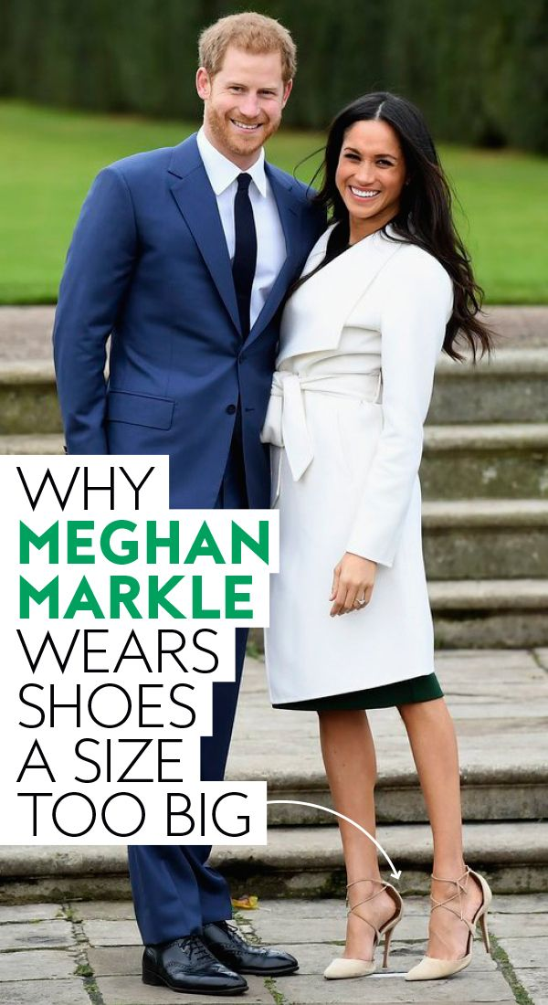 8738925e14e Why Meghan Markle Wears Shoes That Are a Size Too Big