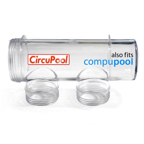 CircuPool Clear Cell Housing > Housing for CircuPool Salt Pool Chlorine Generator Systems Fits all Compupool CPSC Chlorine Generators Also replaces CompuPool Cell Body Housing. Check more at http://farmgardensuperstore.com/product/circupool-clear-cell-housing/