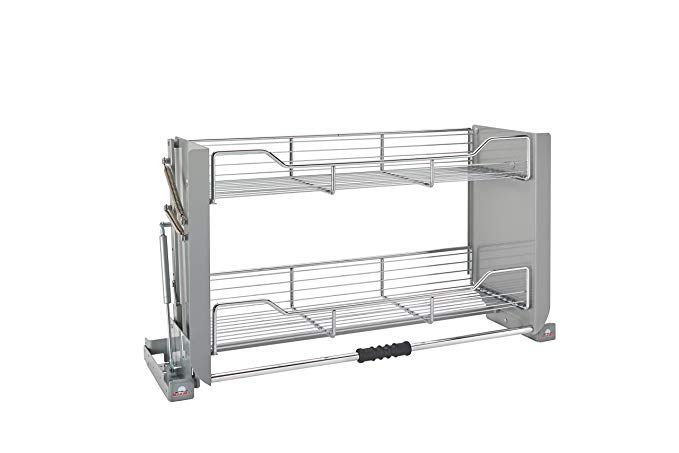 Amazon Com Rev A Shelf 5pd 36crn Large Wall Cabinet Pull Down Shelving System Home Kitchen Pantry Layout Wall Cabinet Rev A Shelf