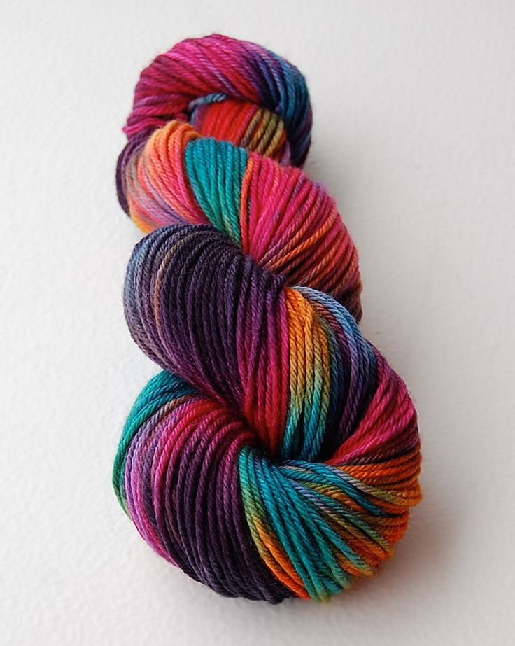 Hand Dyed Exotic Blend Fiber