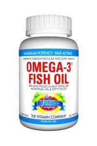 The Vitamin Company Omega 3 Fish Oil brand- Nature Made fish oil supply originates from profound sea waters, not cultivate raised fish.