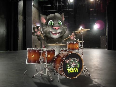 """TOM THE TALKING CAT:  """"my lovely wife loves this app""""  The boys of ours really do!"""
