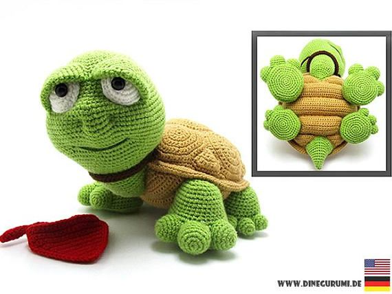 Amigurumi Turtle : Best crochet turtle tortoise images crochet