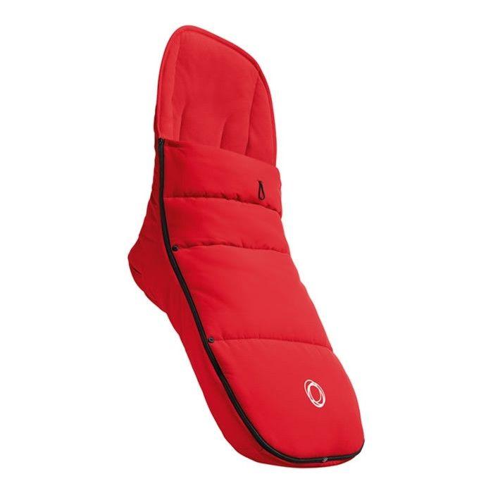 Bugaboo Footmuff - Red - Fits All Bugaboo Strollers