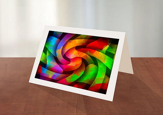 Original Art Greeting Cards-Pkg of 6 different  images With