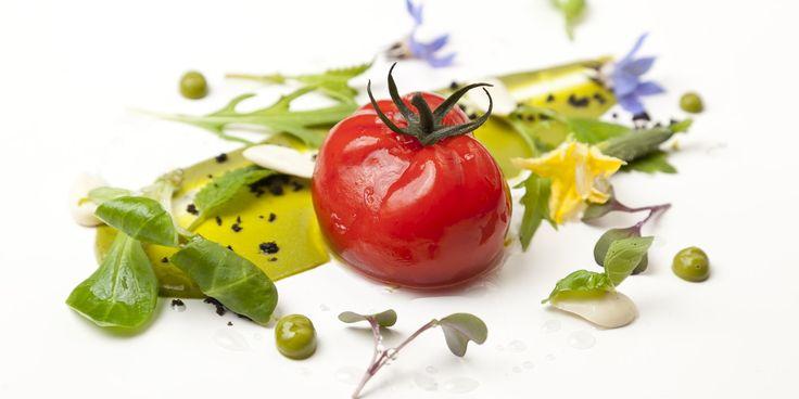 Tomato gazpacho and garden salad - Colin McGurran
