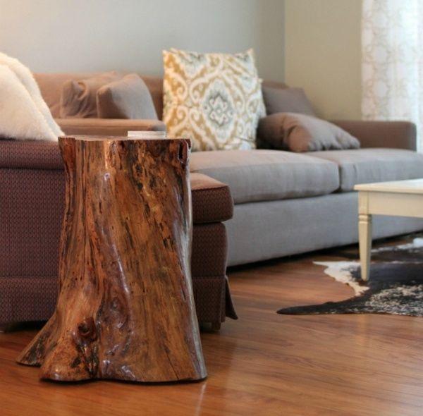 60 best Tree stump projects images on Pinterest Tree stumps - deko ideen f amp uuml r wohnzimmer