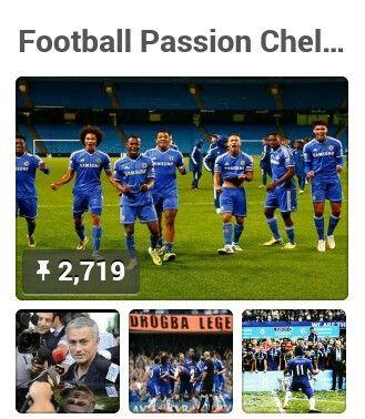 BOARD: Football Passion Chelsea & the Wonderful Game and Talent, by Amanda Brinkmann / @abindigo