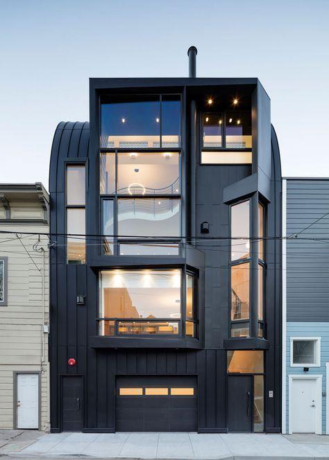 Tussen alle Victoriaanse huizen staat opeens een modern huis - Roomed
