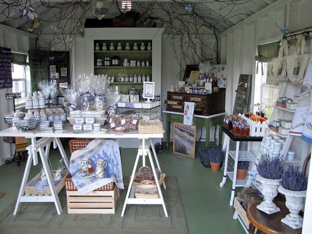 Farm store display idea. Lockwood Lavender Farm