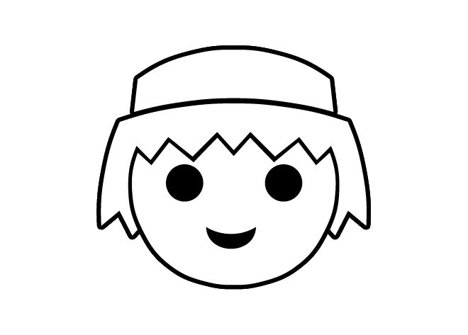 Coloring to print : Famous characters - Playmobil number 222504