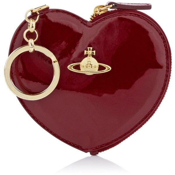Vivienne Westwood Charms Heart Keyring (105 CAD) ❤ liked on Polyvore featuring accessories, key chain rings, heart key ring, vivienne westwood, leather key ring and heart shaped key ring