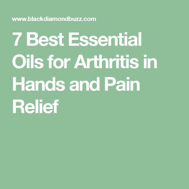 Best 20 Essential Oils Arthritis Ideas On Pinterest