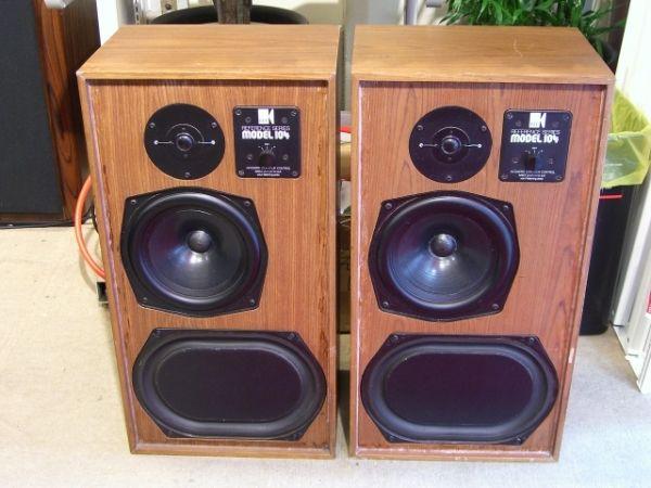 KEF Reference 104 Speakers review | Vintage speakers, Kef