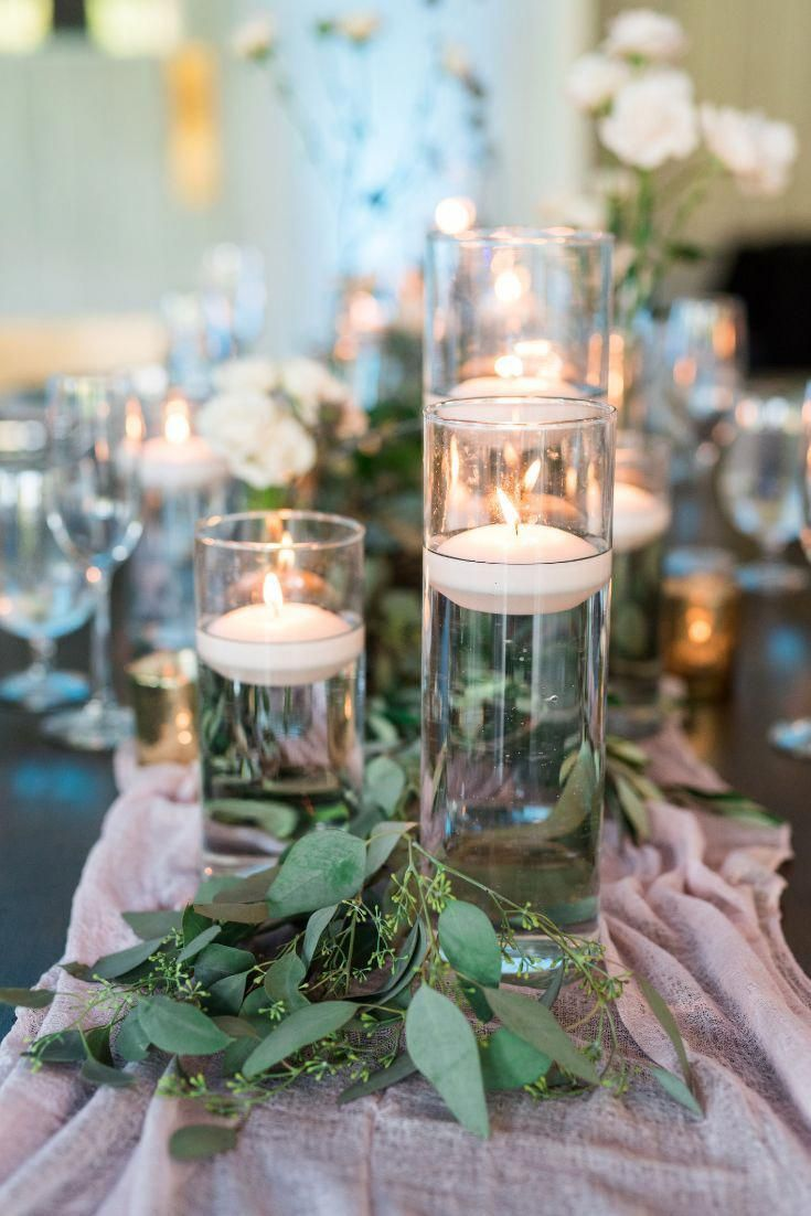 Cheap Wedding Decorations For Tables Ideas Affordable Wedding Centerpieces Wedding Table Centerpieces Candle Table Centerpieces
