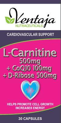 L-CARNITINE, COQ10 & D-RIBOSE