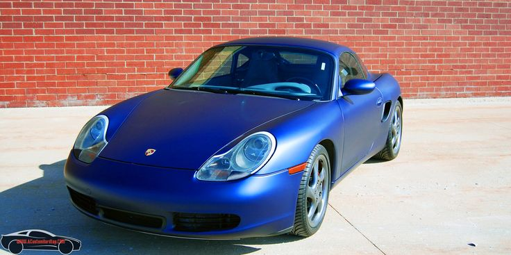 Fully finished installation of the hardtop on the 986 Porsche Boxster. The vehicle looks like it had never been a convertible.