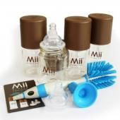 Mii набор для новорожденного mii  арт.6014  — 4000р. ----------- производитель: mii  особенности набора для новорожденного mii: отличный комплект для кормления новорожденного. контейнеры для хранения молока сделаны с технологией forever™, созданные  ems-grivory's grilamid tr-90 polyamide.небьющиеся. безопасные для  младенцев. проверенные на отсутствие бисфенол-а и э.а., 80,000  химических веществ, подозреваемых в эстрогенной активности.  использование технологии forever™, наши бутылочки…
