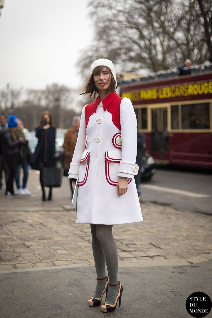Haute Couture SS 2014 Street Style: Anya Ziourova 14 Feb '14 Anya Ziourova, stylist, fashion director at Tatler Russia and creative consulta...