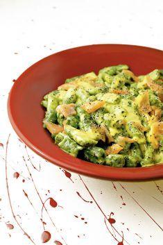 Spatzle verdi al salmone con salsa allo zafferano - Tutte le ricette dalla A alla Z - Cucina Naturale - Ricette, Menu, Diete