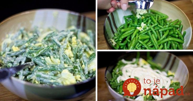 Lahodný šalát zo zelenej fazuľky