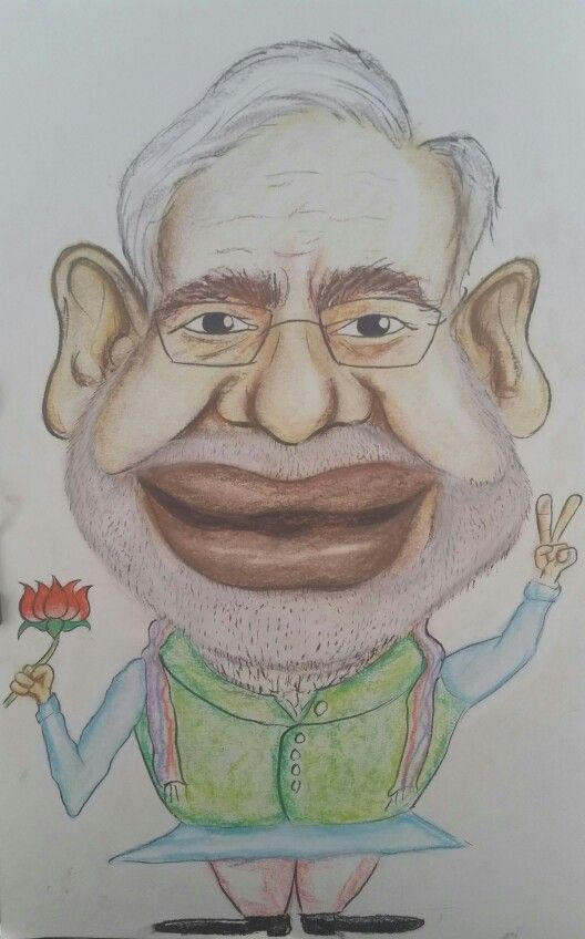 Modified caricature