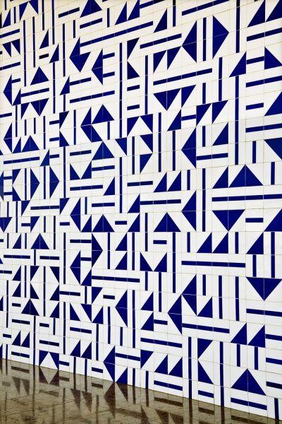 Athos Bulcão,Arte,Pinturas,Azulejos XI www.mesquita.blog.br  www.facebook.com/mesquita/fanpage