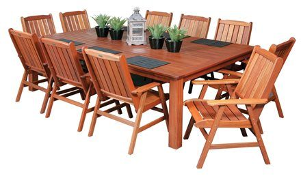 17 best images about outdoor dining sets on pinterest for 10 seater dining table perth
