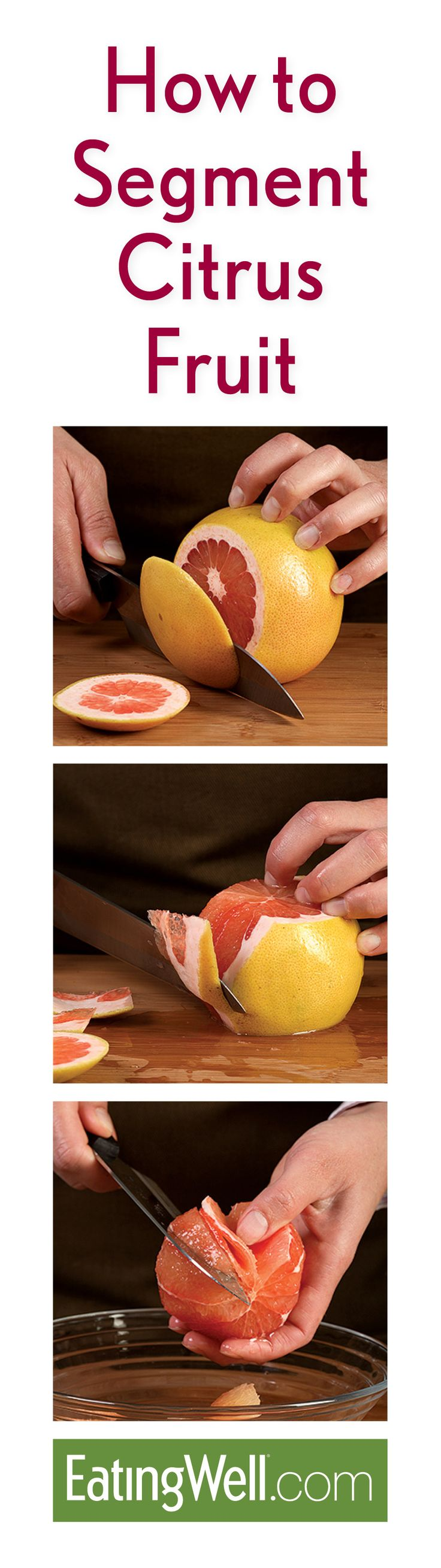 Winter is citrus fruit season, get your fill of fruits like grapefruit with this easy tutorial on how to segment citrus fruit.
