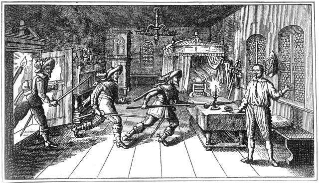 Zavraždění Albrechta z Valdštejna v Chebu