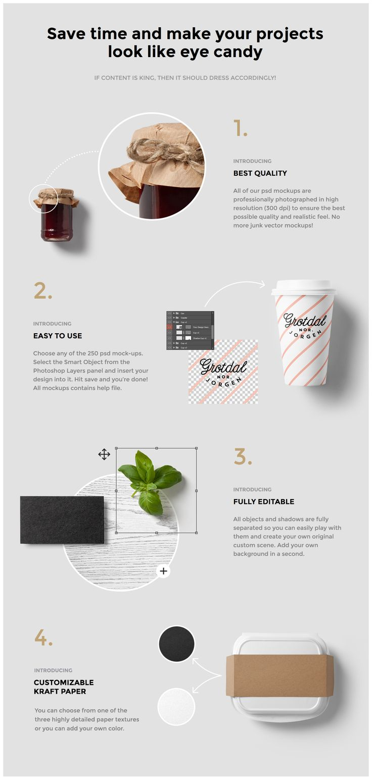 Burger Bar Stationery Mock-Up by forgraphic™ on Creative Market