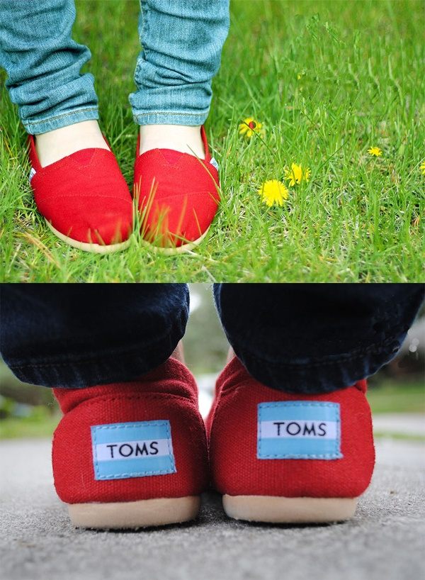 I love these Toms shoes , they dress up anything your wearing and look so chic.