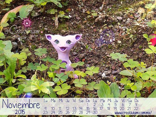 Calendario Noviembre 2015 creativiam