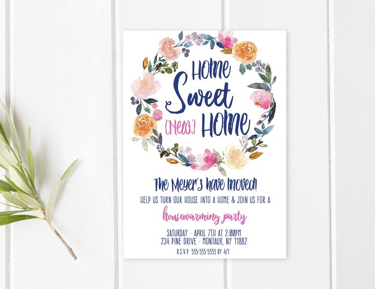 Best 25+ Housewarming party invitations ideas on Pinterest ...