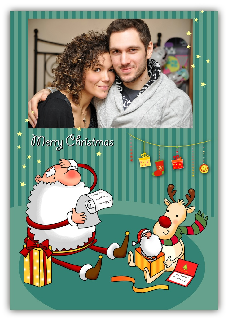 Christmas personal card