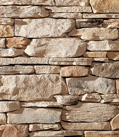 Interior Stone Veneer Products : Natural blend ledgestone stone veneer interior