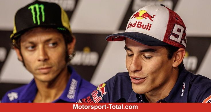 Valentino Rossi erneuert seine Kritik an Marc Marquez und wirft dem Spanier vor, sich wie ein Kind zu verhalten - Selbst Erzrivale Max Biaggi war dem Italiener lieber